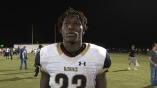 C.J. Brown of Beggs on a Roll the Last Two Weeks
