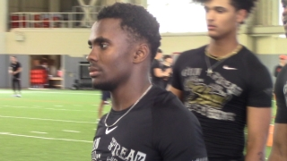 """Braylin Presley at """"The Show"""" Does Drills and Readies for Official Visit"""